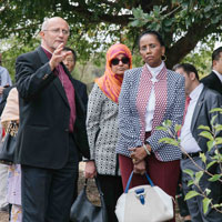 UNESCO Peace delegates engage with ACT Interfaith leaders