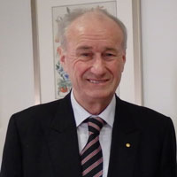 Reverend Professor Emeritus James Haire AC presented with Festschrift